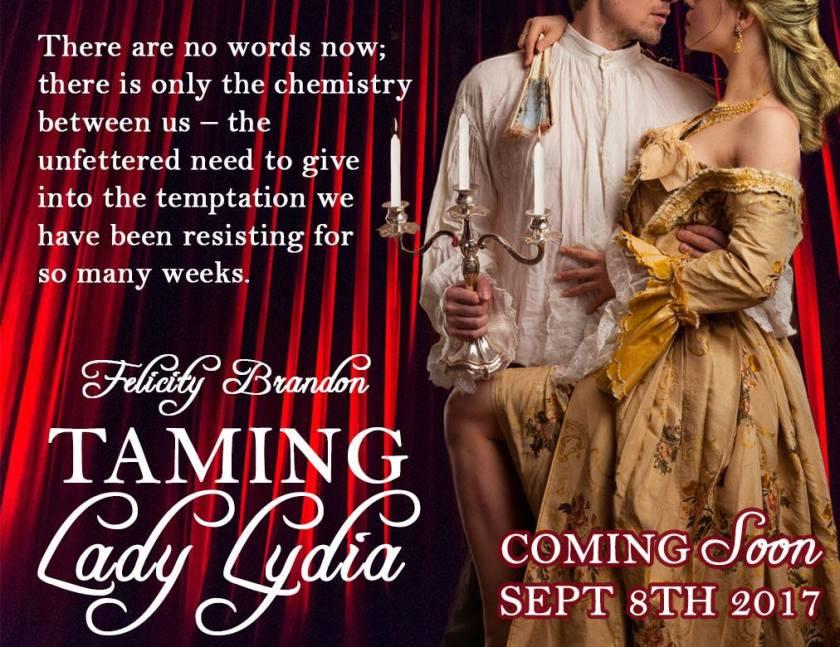 Taming Lady Lydia Teasers LN.jpg temptation