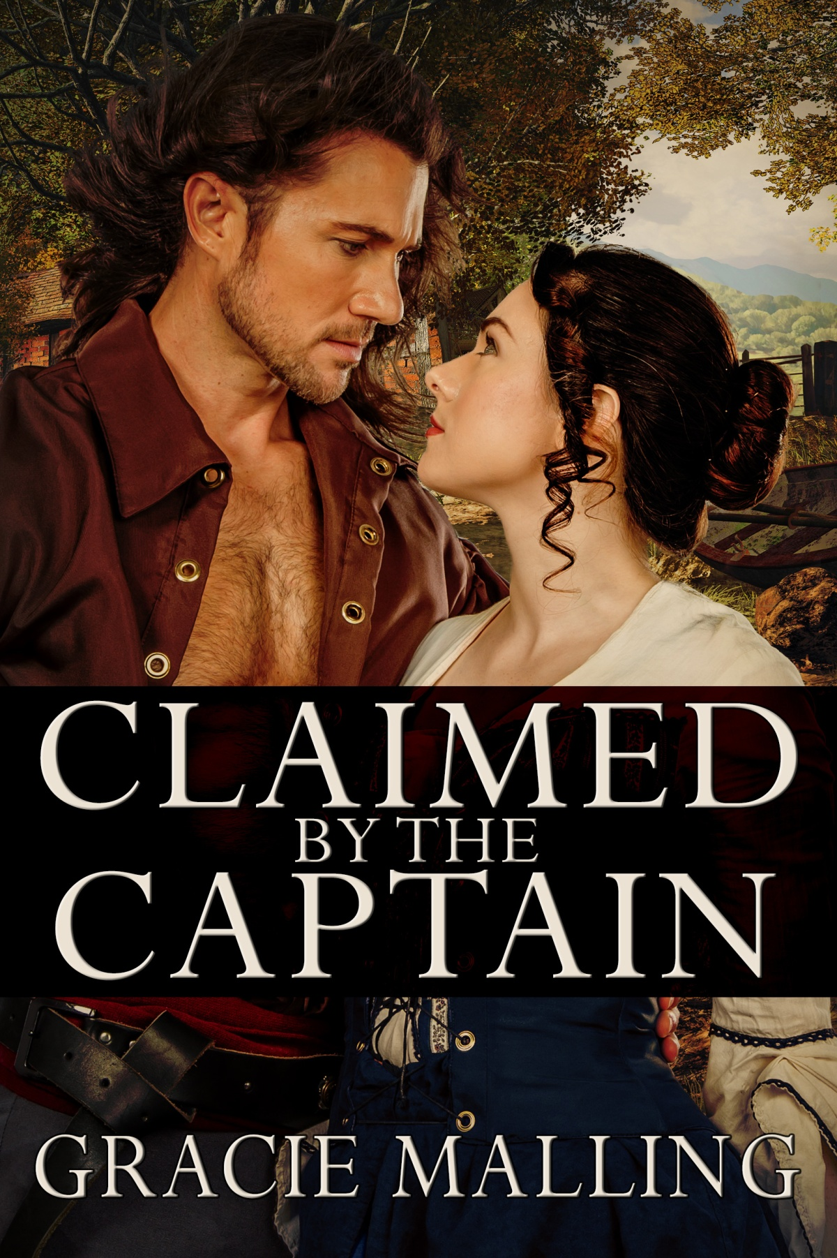 Claimed by the Captain by Gracie Malling
