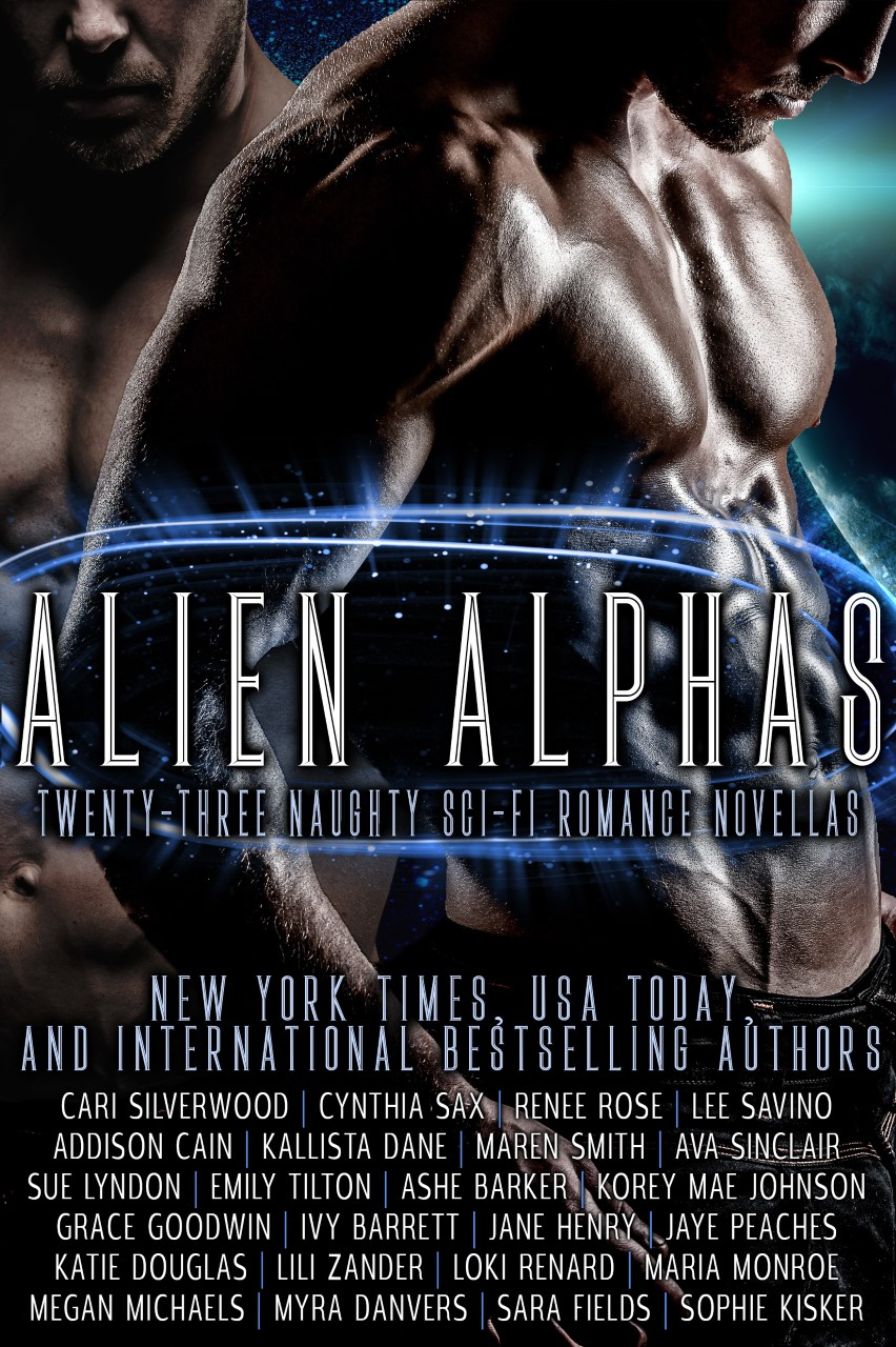 Alien Alphas – Cover reveal!