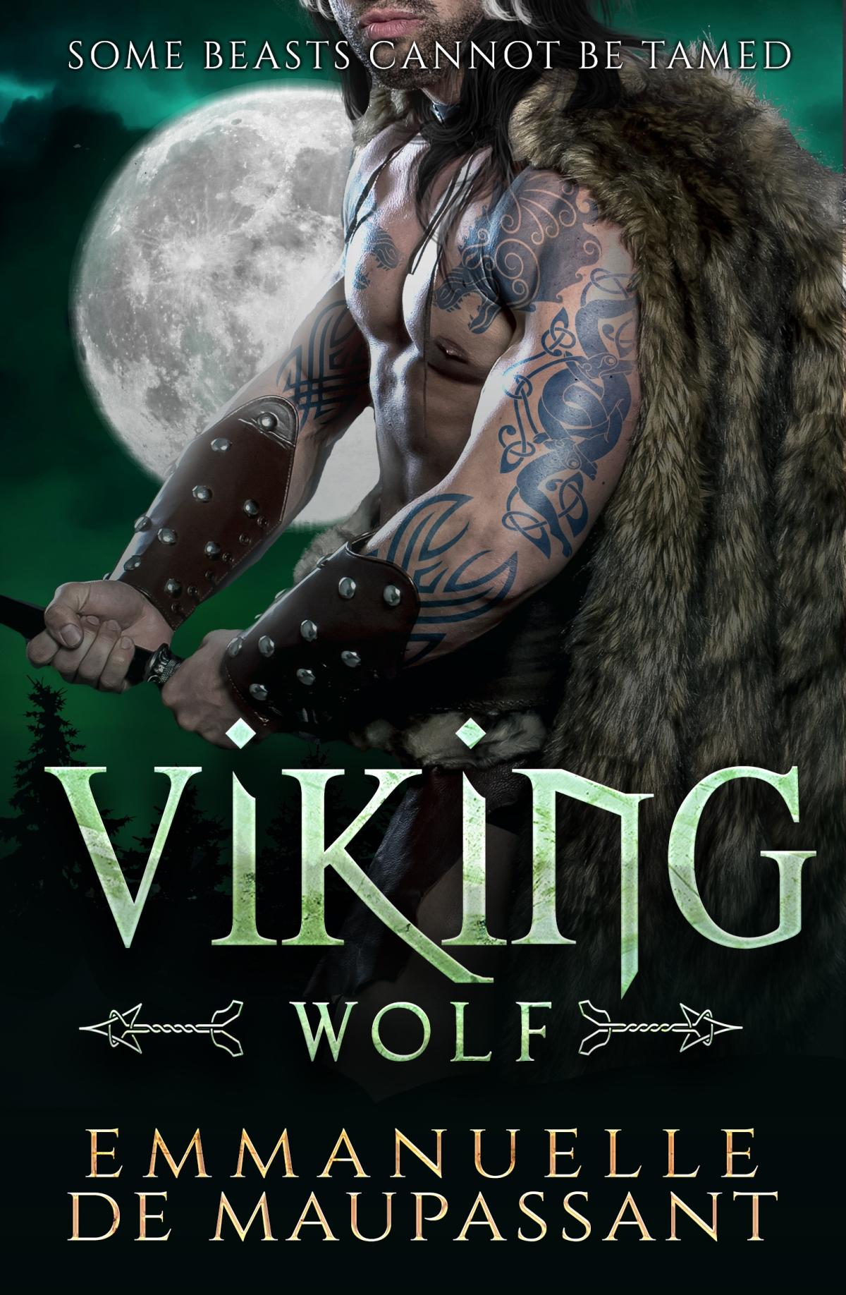 Free! Viking Wolf by  Emmanuelle deMaupassant