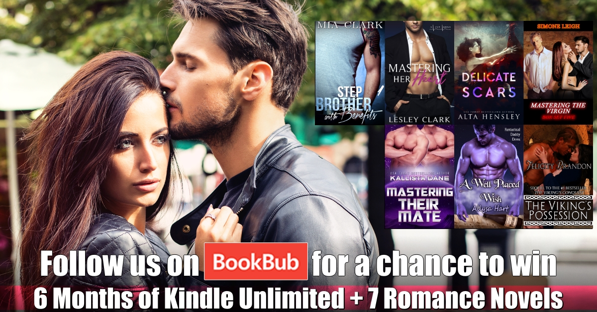 Join me at BookBub and WIN BIG!