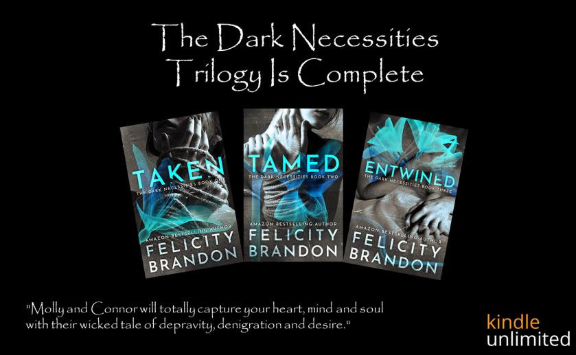 Dark Necessities Trilogy Graphic