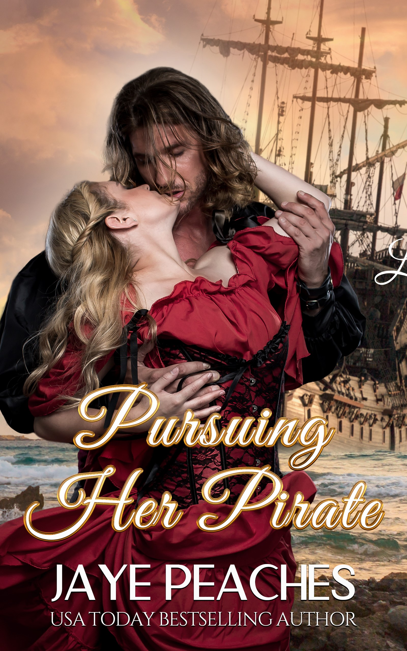 Pursuing Her Pirate-JP Cover