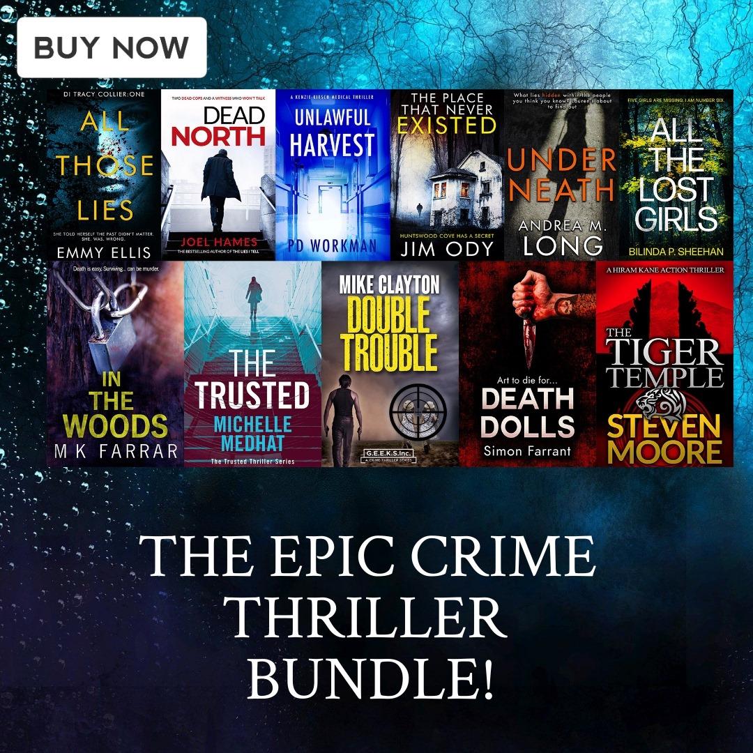 The Epic Crime ThrillerBundle!