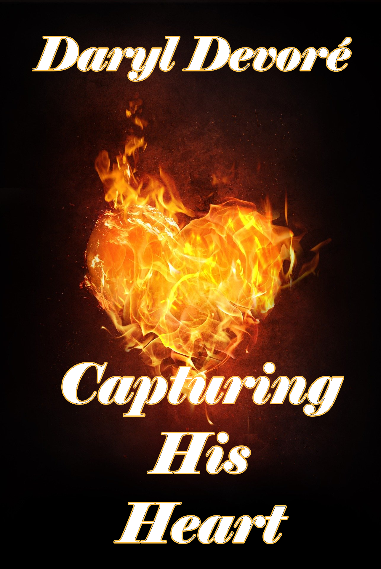Capturing His Heart - DD Cover